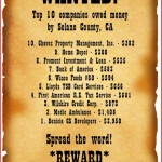 10 Most Wanted businesses in Solano County, California for lost money